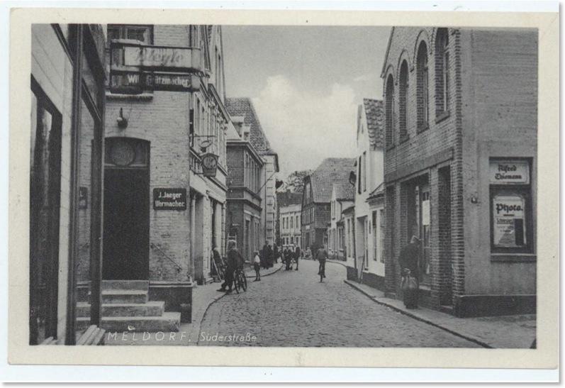 Meldorf Anfang 20. Jahrhundert